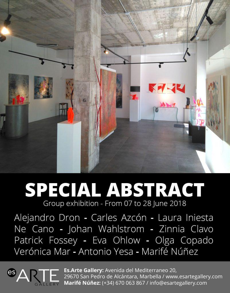 Exposición arte abstracto Marbella España