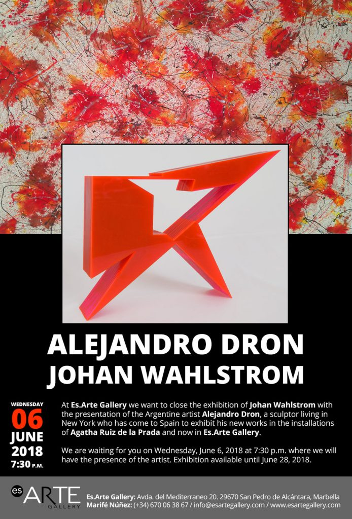 Alejandro Dron art exhibition