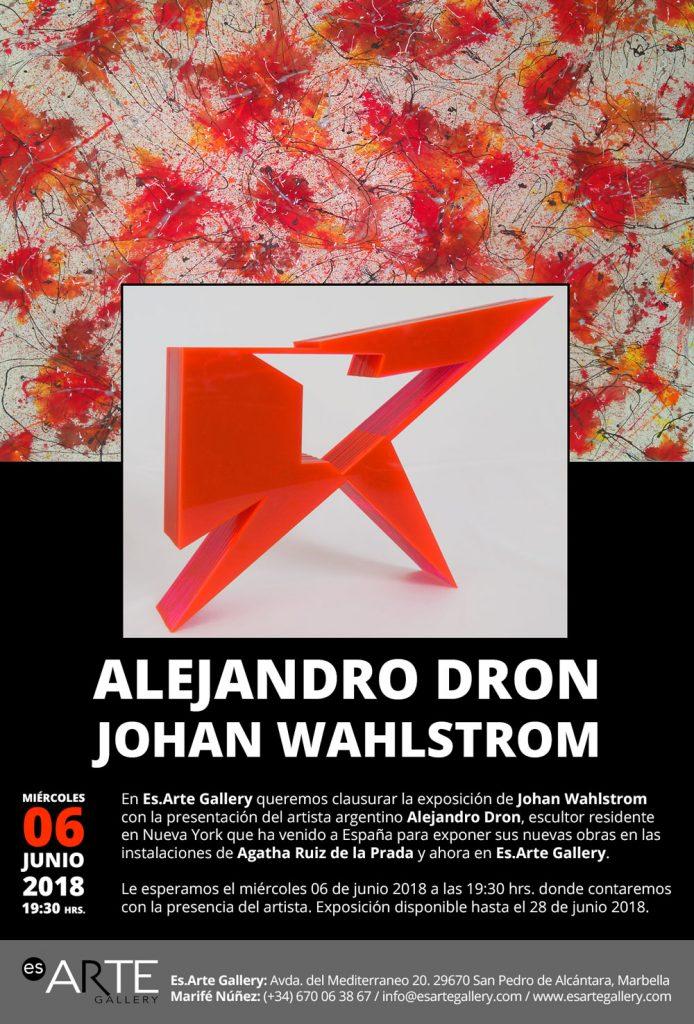 Alejandro Dron exhibition