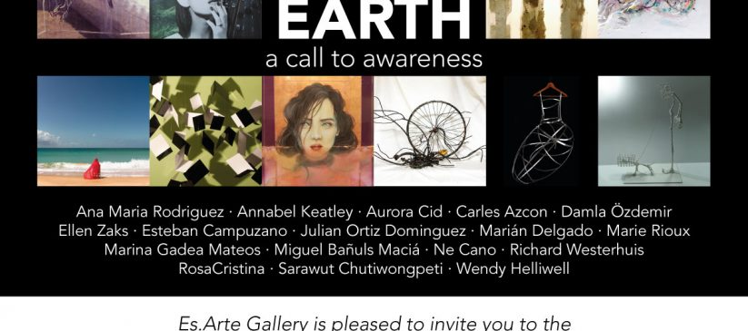 Hungry Earth – A call to awareness. Art exhibition in Marbella