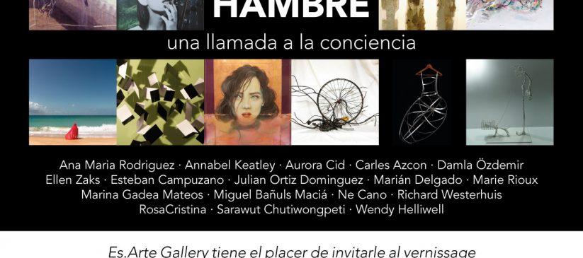 Exposición de Arte: Tierra de Hambre - Una llamada la conciencia
