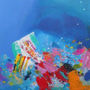 Pintura abstracta original en venta
