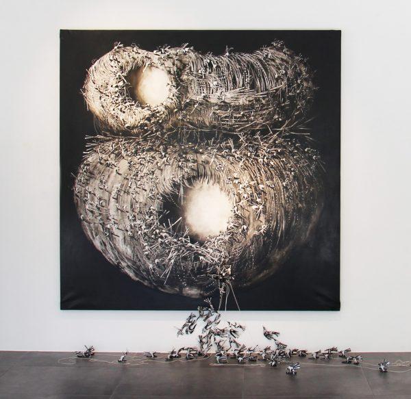 Lo luz de Uriel 175x175cm